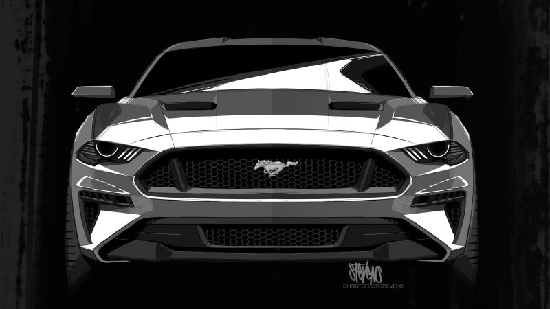See Photos With 2018 Photos: Visual Do Mustang 2018 Foi Inspirado Por Darth Vader