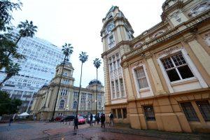 Centro histórico de Porto Alegre. Foto: JF Diorio/Estadão