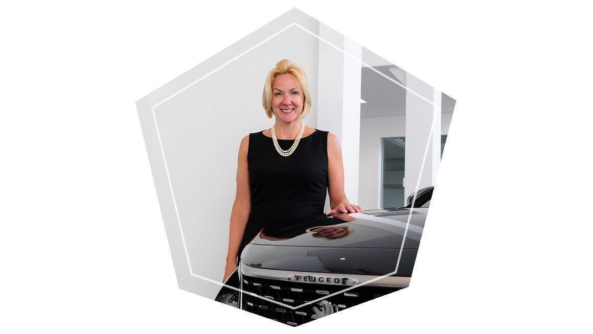 Diretora-geral da Peugeot do Brasil, Ana Theresa Borsari