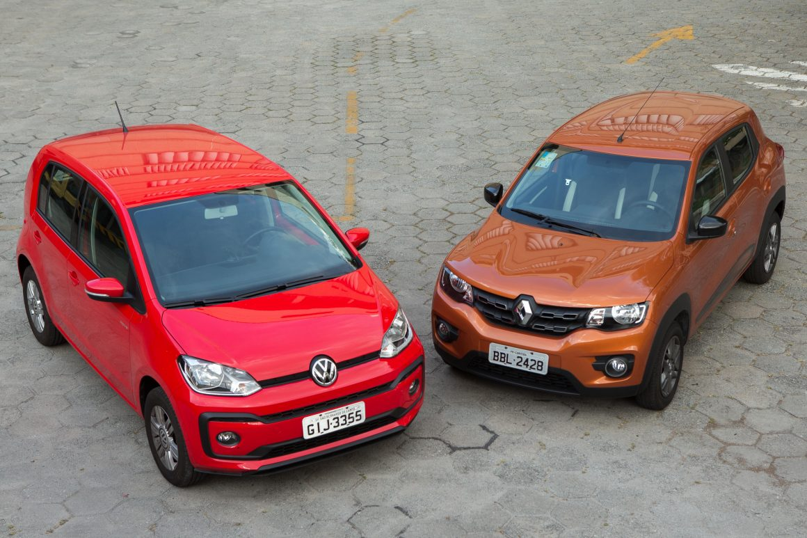 VW Up! Renault Kwid