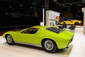 Lamborghini Miura e Countach