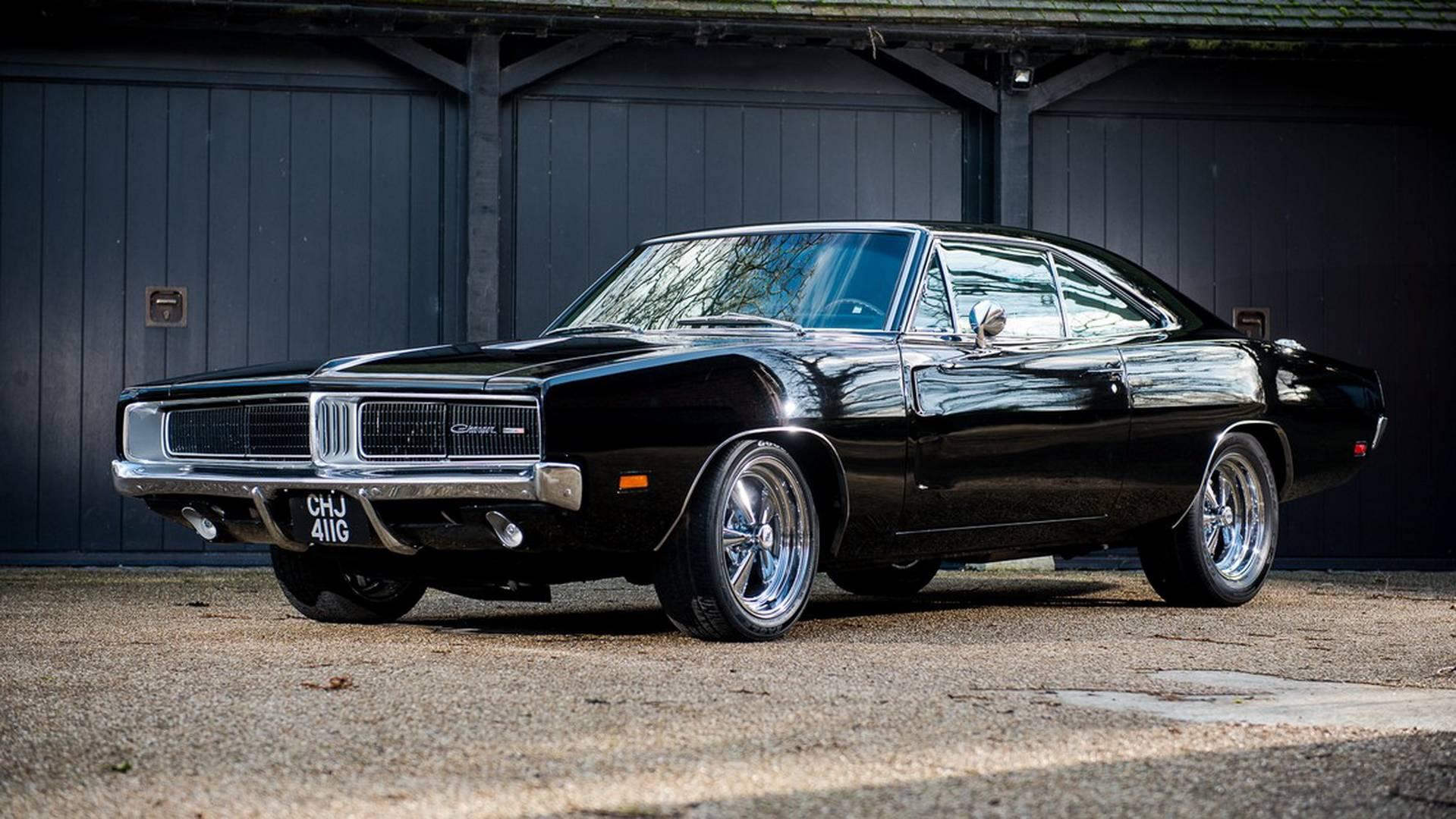 Dodge Charger 1969 Que Foi De Bruce Willis Vai A Leilao