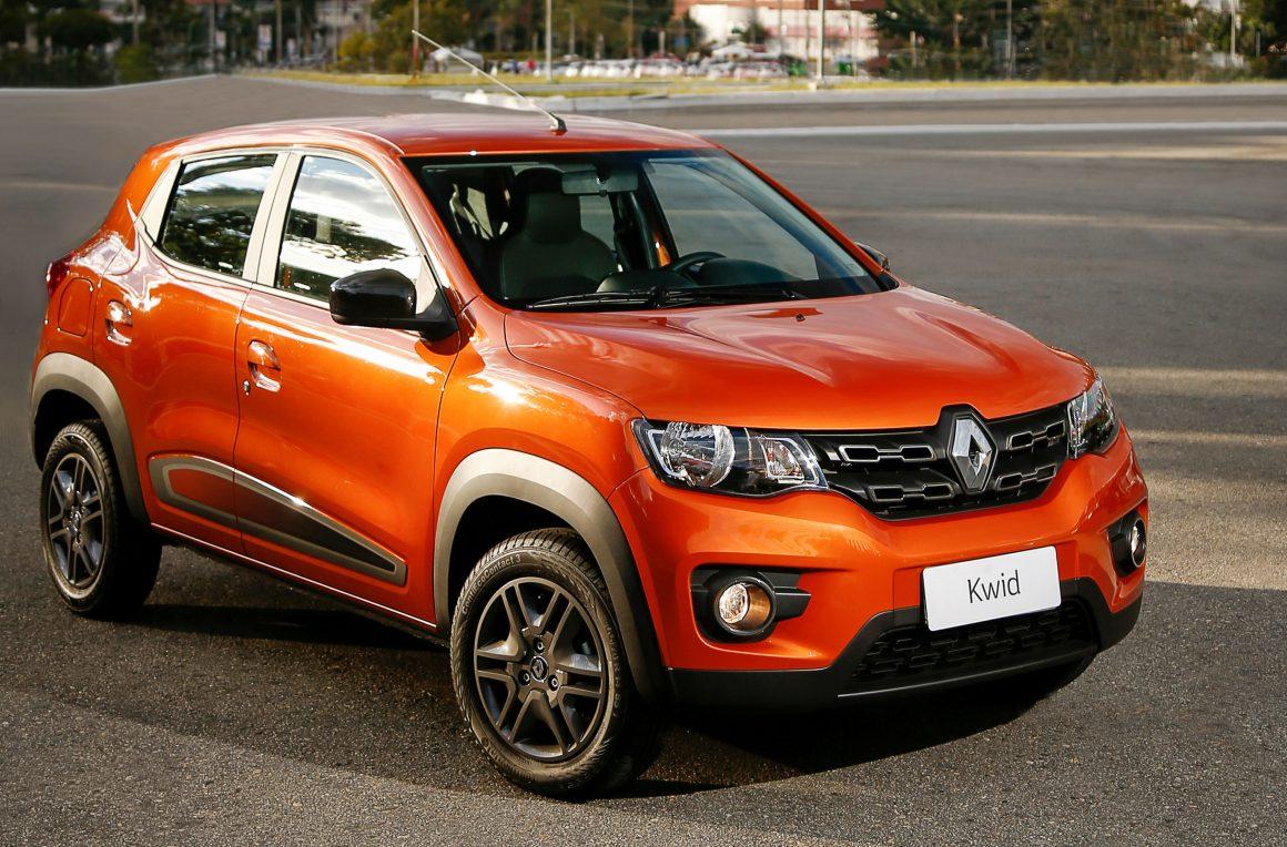 Renault Kwid tem novo aumento de preço em maio