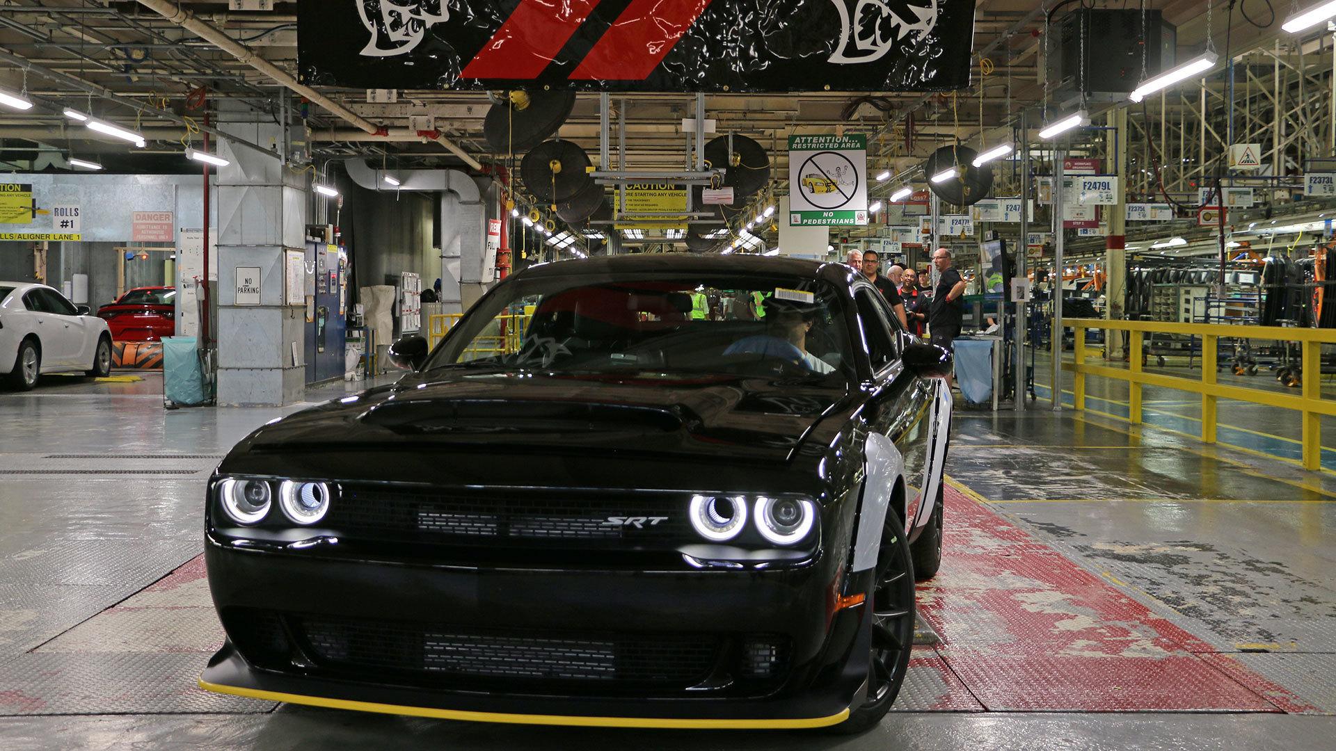 Ultimo Dodge Challenger Srt Demon Sera Leiloado Jornal Do Carro Estadao