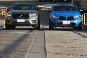 Volvo XC40 e BMW X2