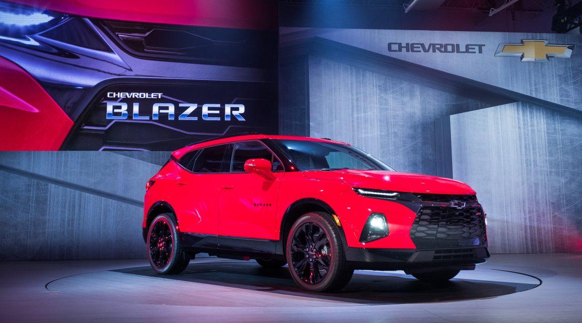 Novo Chevrolet Blazer surge com 'cara' de Camaro