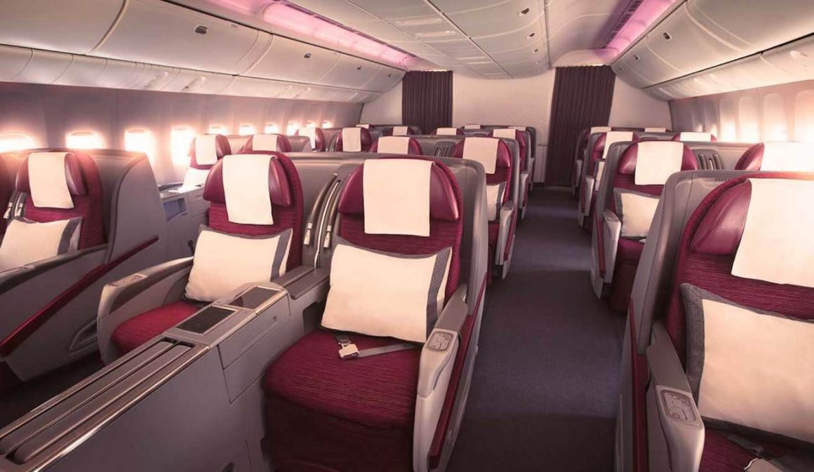 Como voar na executiva da qatar airways jornal do carro estado classe executiva qatar airways stopboris Image collections