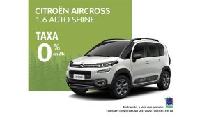 Citroën AIRCROSS  1.6 Auto Shine