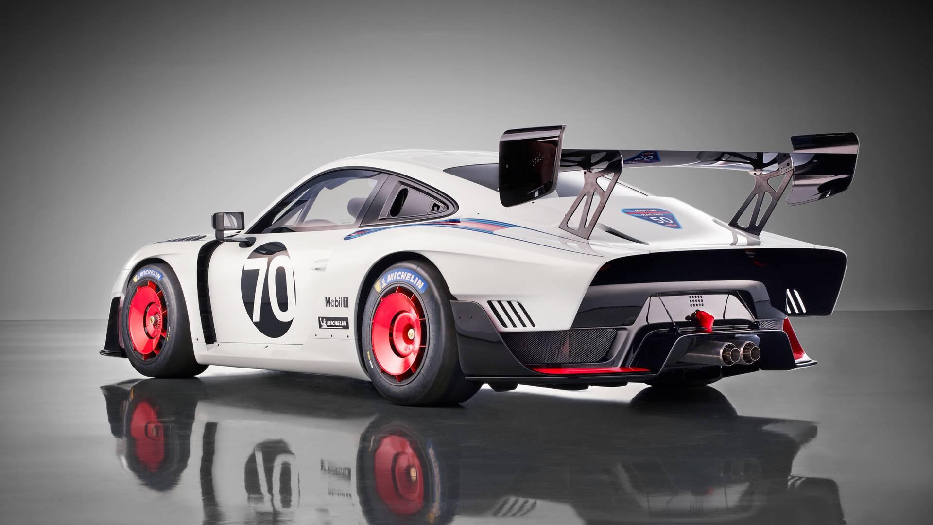 Porsche 935 Moderno Surge Com Base Do 911 Gt2 Rs
