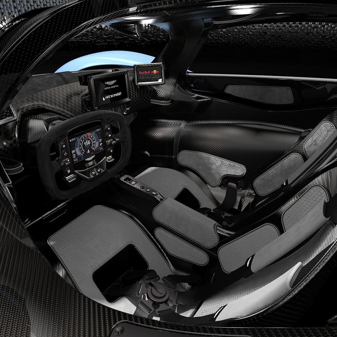 Aston Martin Revela Imagens Do Hipercarro Valkyrie
