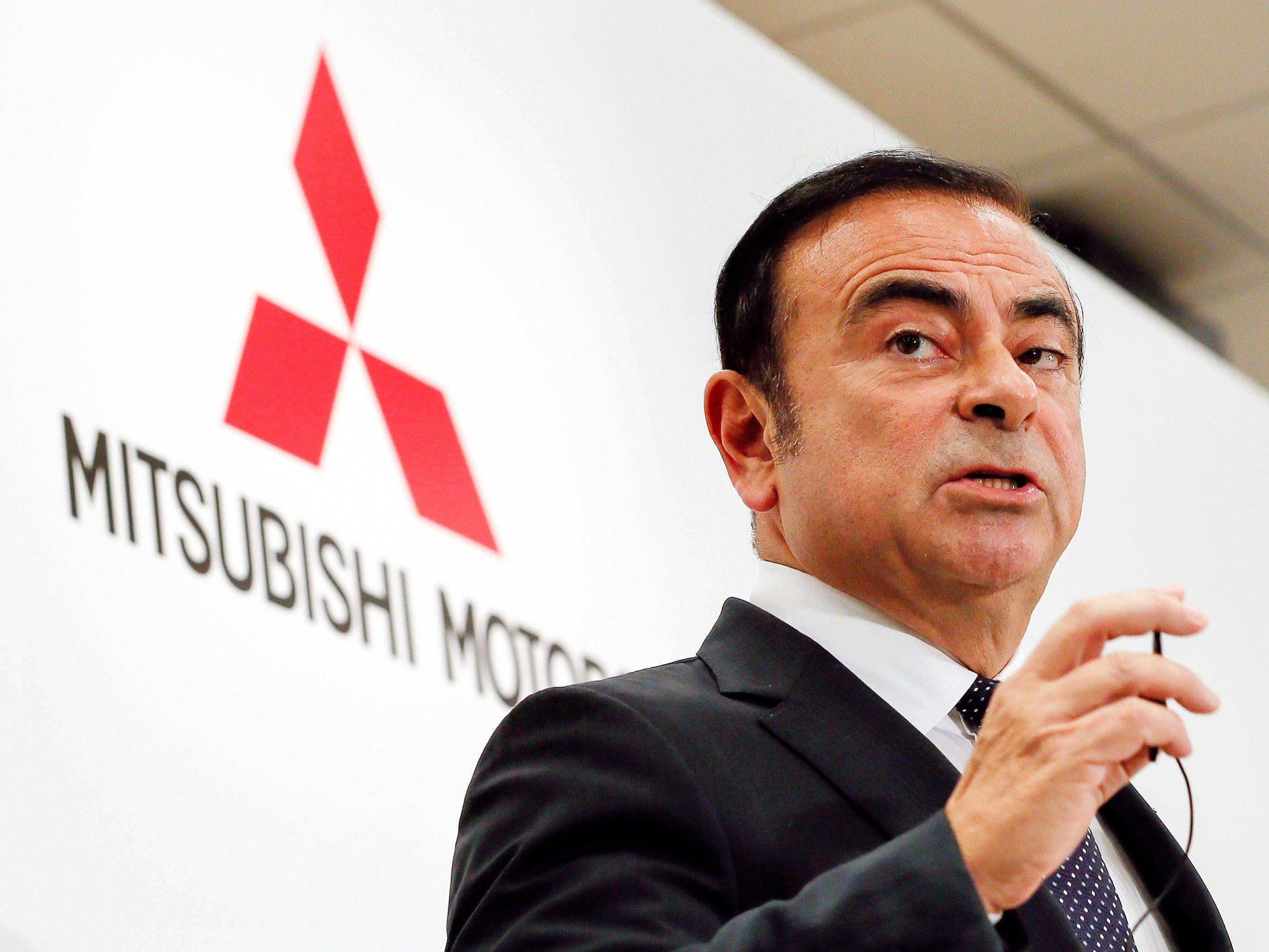 Mitsubishi também demite Carlos Ghosn da presidência