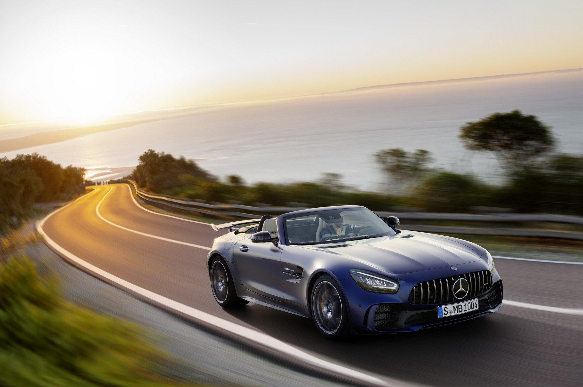 Mercedes Mostra O Amg Gt R Roadster Jornal Do Carro Estadao