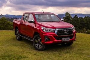 carro mais vendido na Argentina, Peru e Paraguai