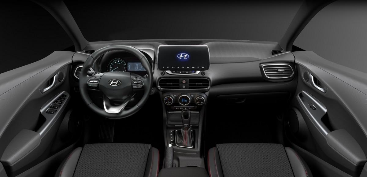 interior do novo Hyundai HB20