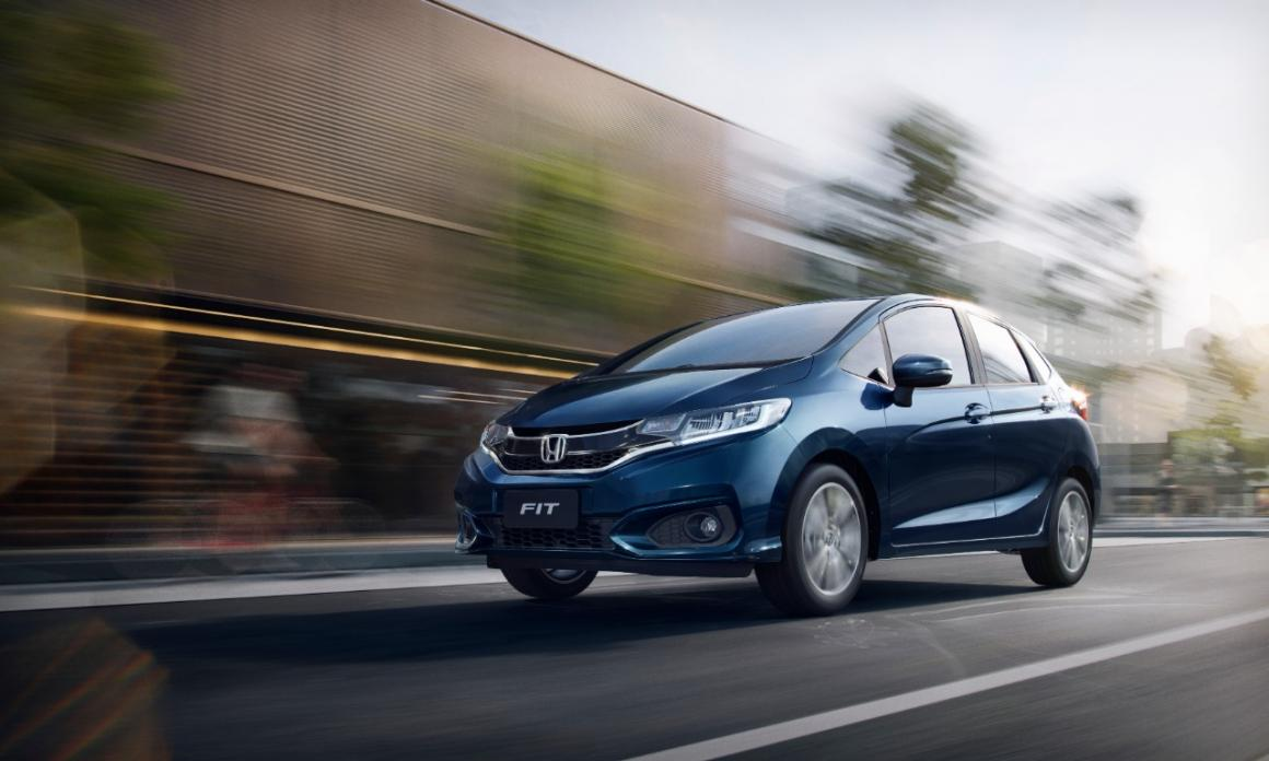 Honda Fit EXL CVT 0
