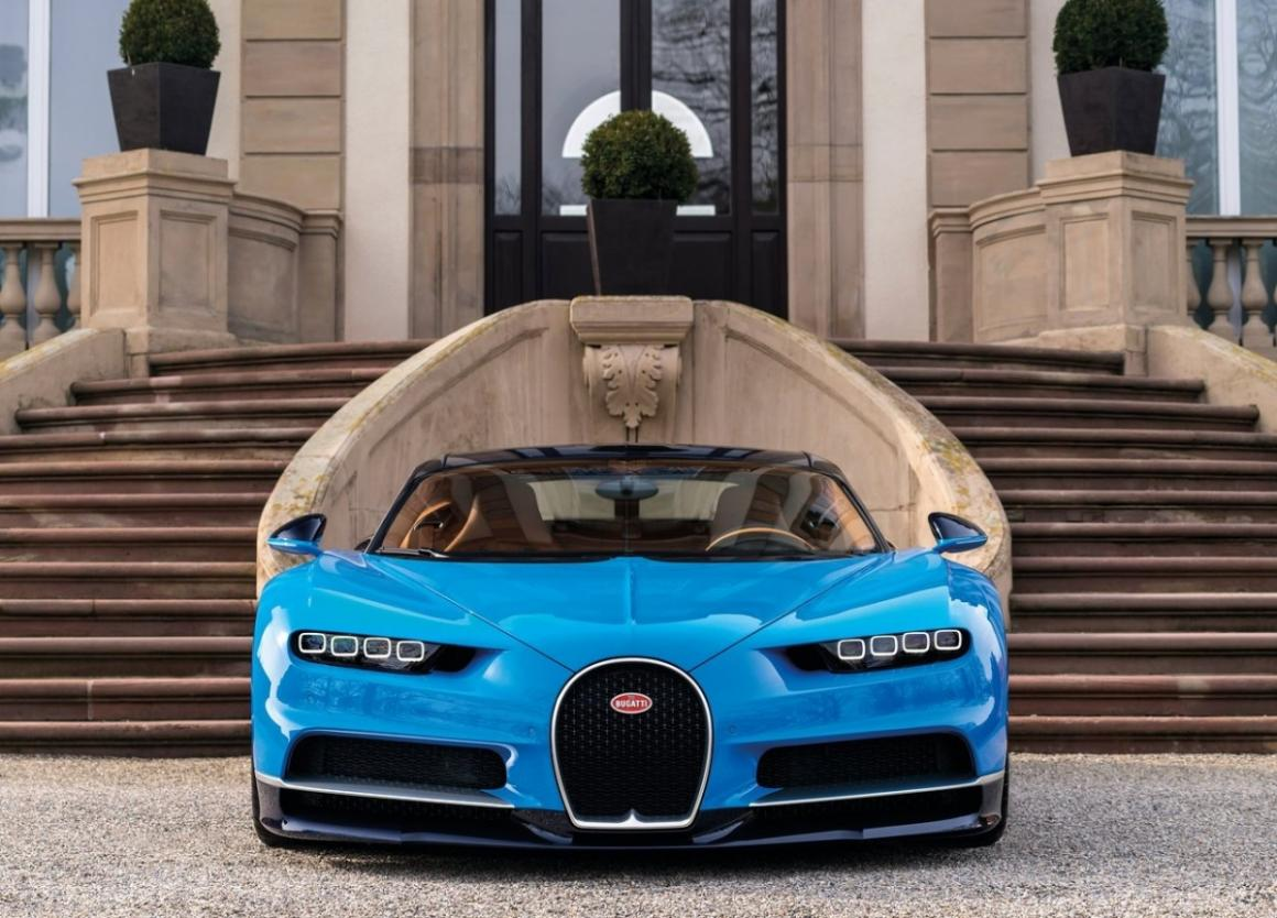 SUV da Bugatti já tem visual definido - Jornal do Carro