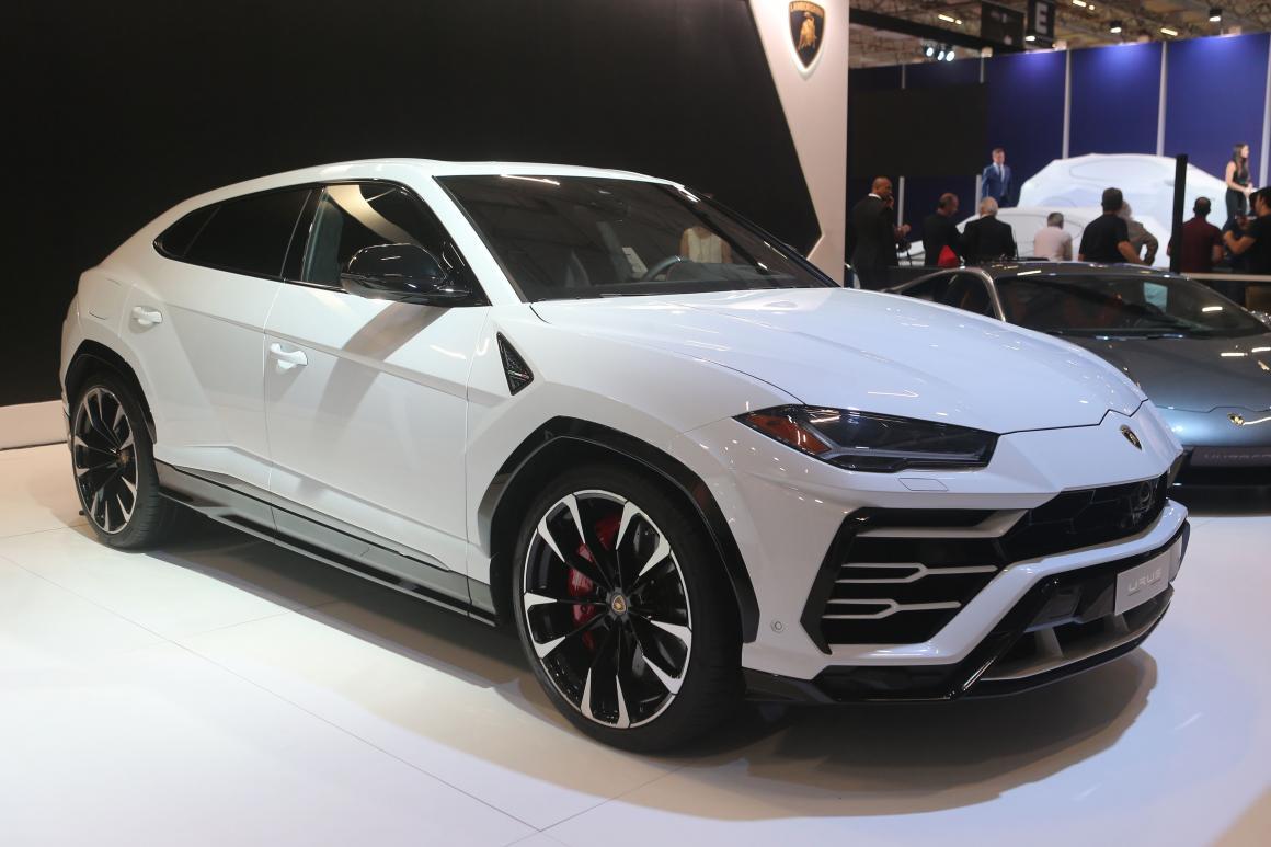 Lamborghini Urus SUVs de marcas de esportivos
