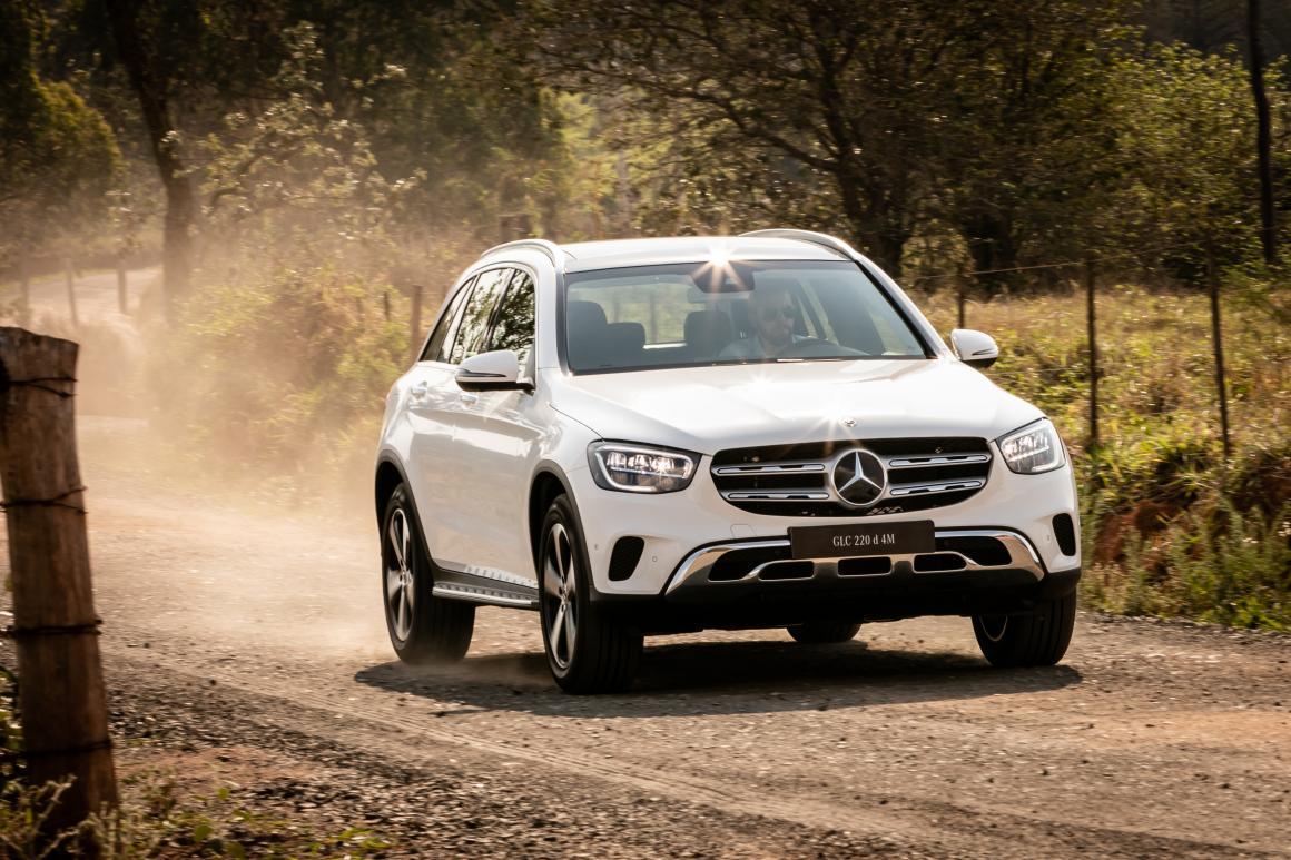 Mercedes Glc Chega Com Inédito Motor A Diesel Jornal Do