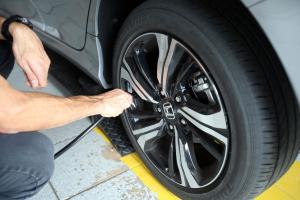 calibração de pneu