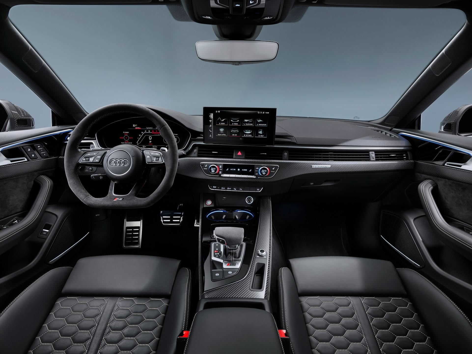 Audi Rs5 Ganha Mesma Reestilizacao Do Rs4 Avant