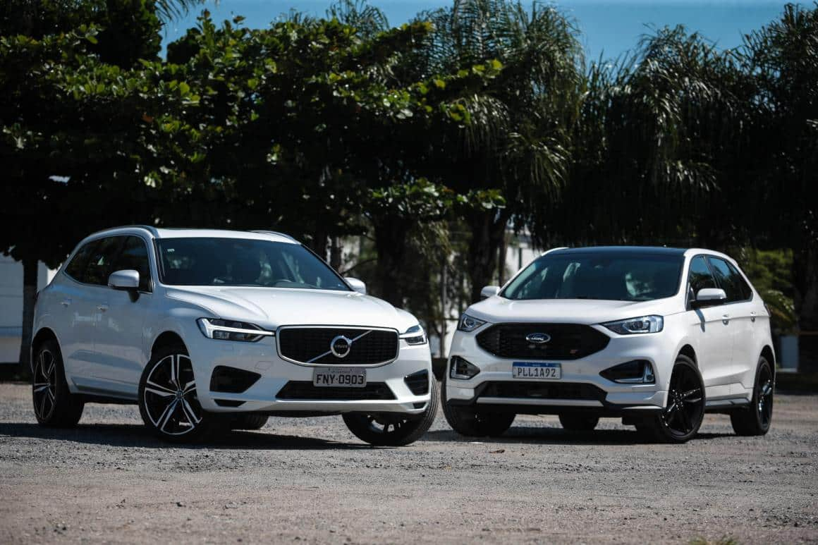 volvo xc60 ford edge