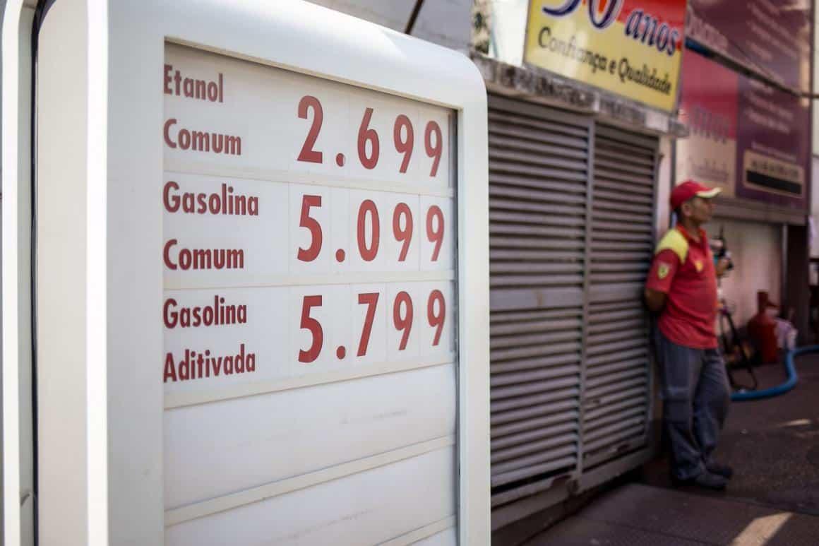 preços posto de combustível