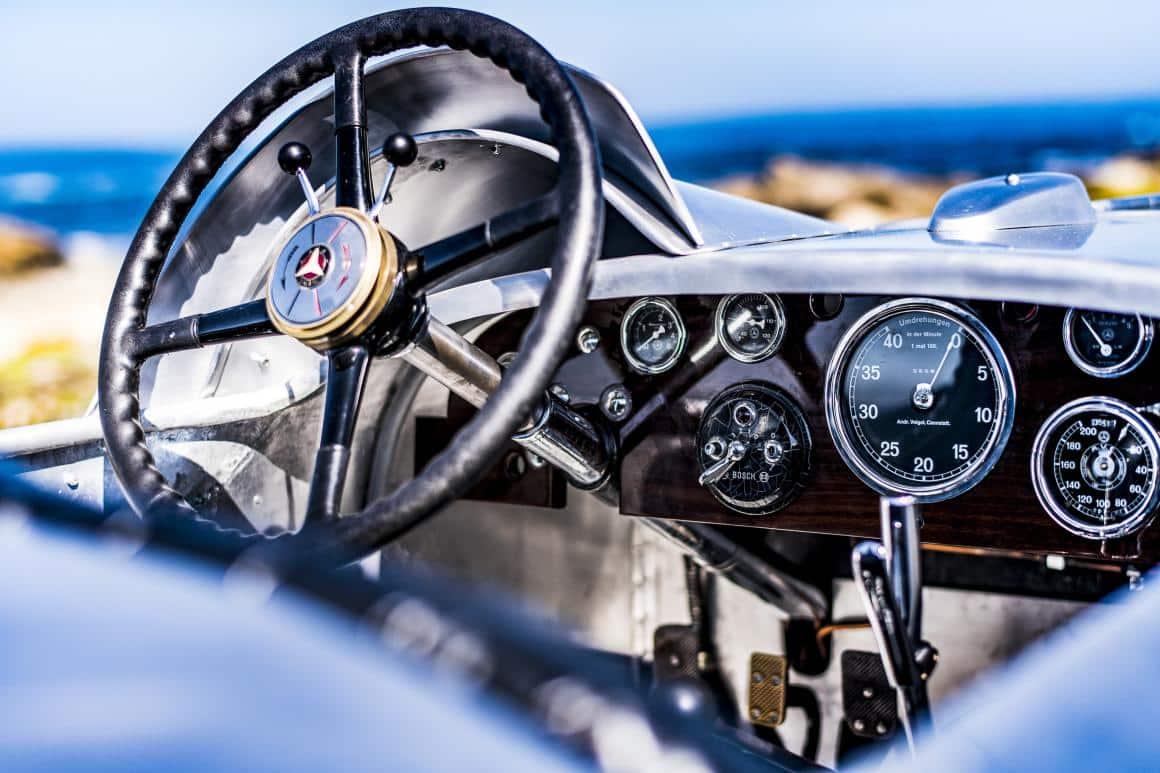 volante mercedes sslk 1932