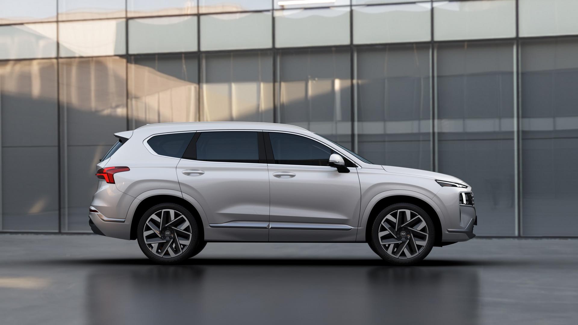 Hyundai Santa Fe 2021 Tem Novo Visual E Motorizacao Hibrida