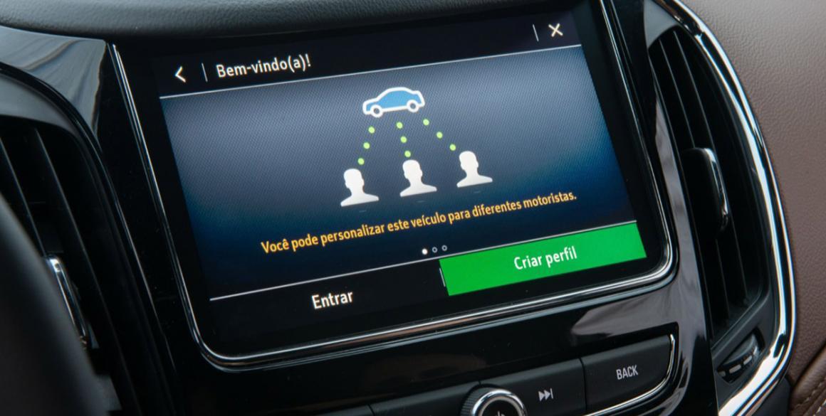 Chevrolet Cruze Premier 2020 multimedia