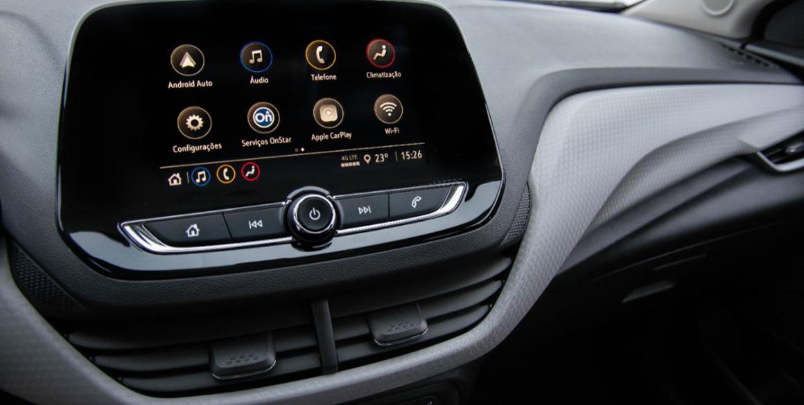 Chevrolet Onix 2020 Hatch multimídia
