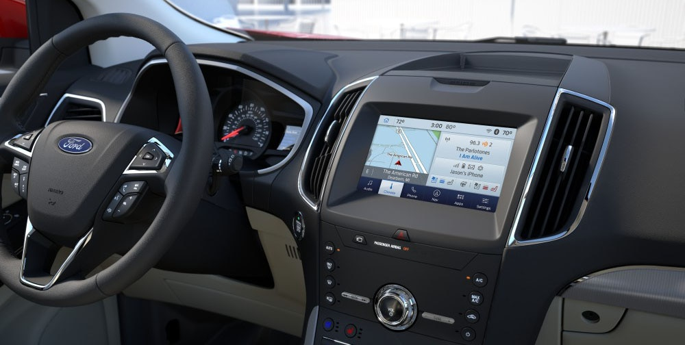 2020 Ford Edge painel