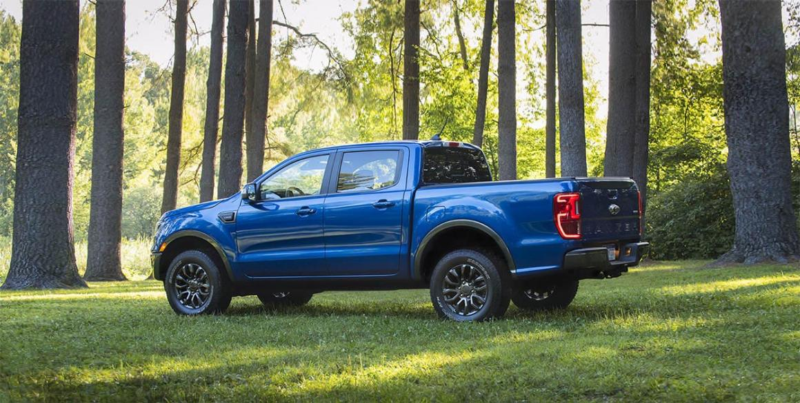 2020 Ford Ranger lateral