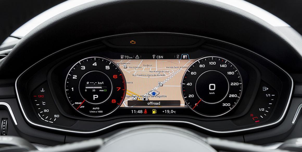 Audi-A4-painel