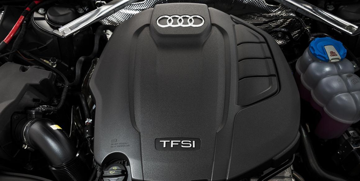 Audi-A4-motor
