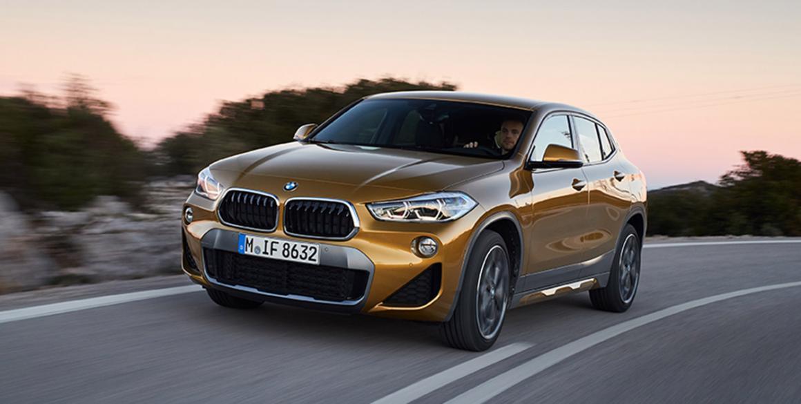 BMW x2 frente