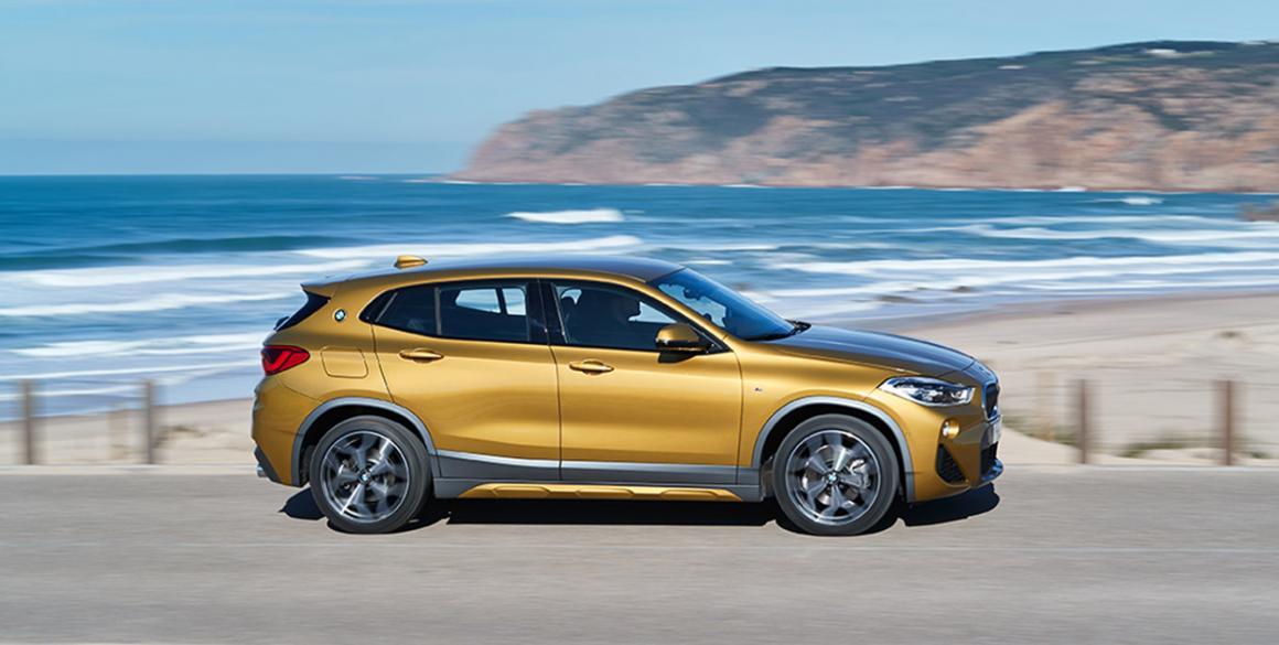 BMW x2 lado