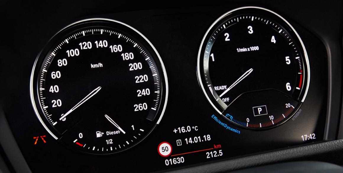 BMW x2 painel