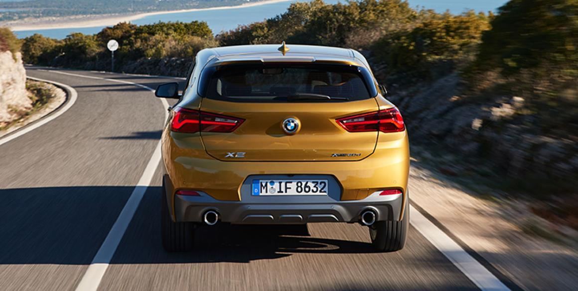 BMW x2 trás