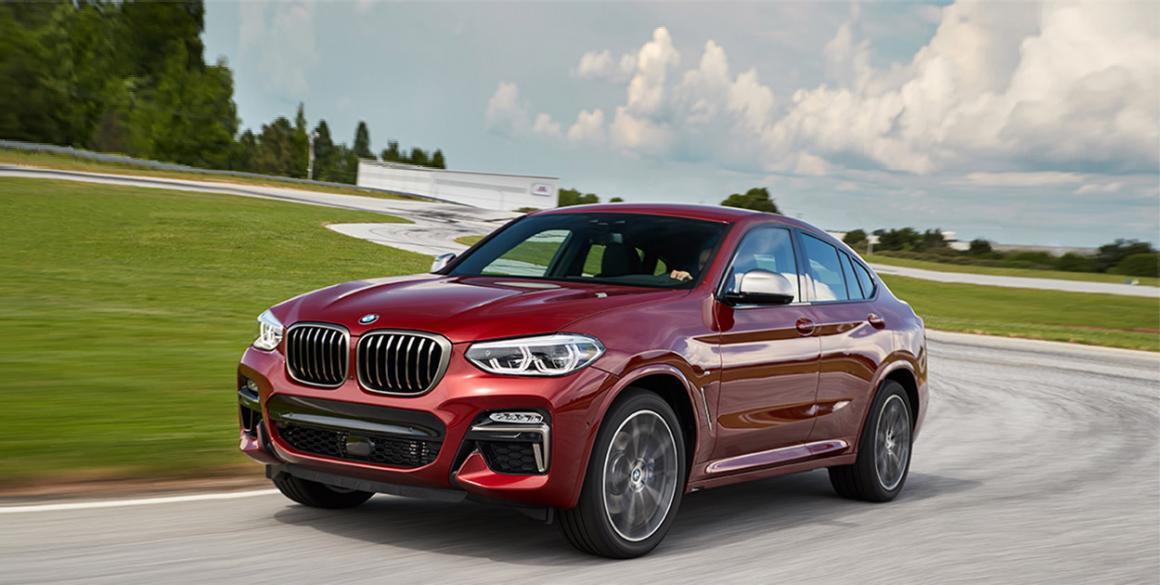 BMW-X4 frente