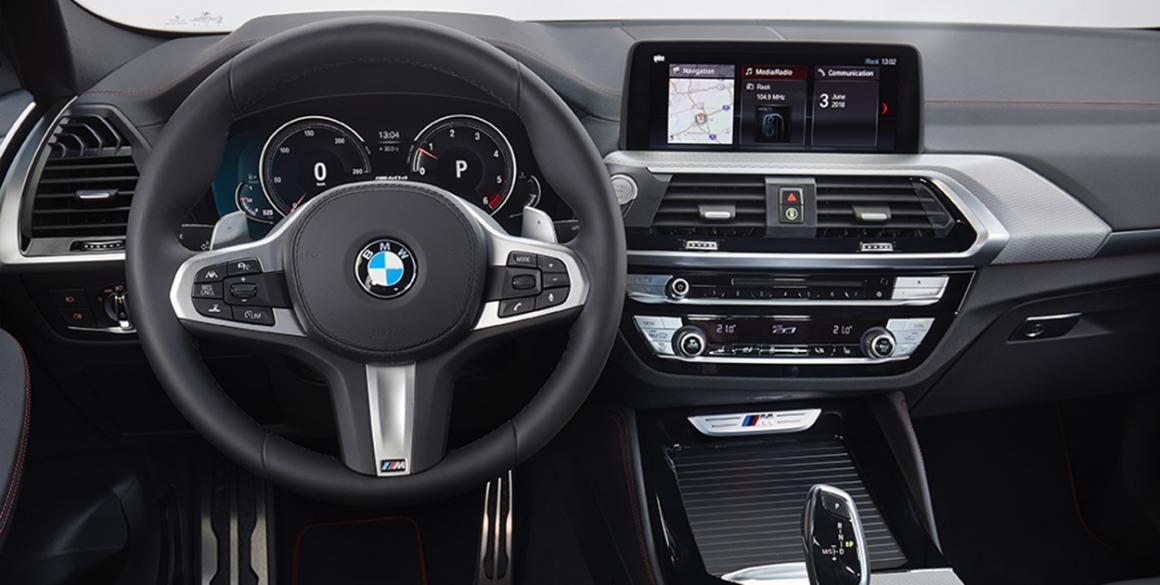 BMW-X4 painel