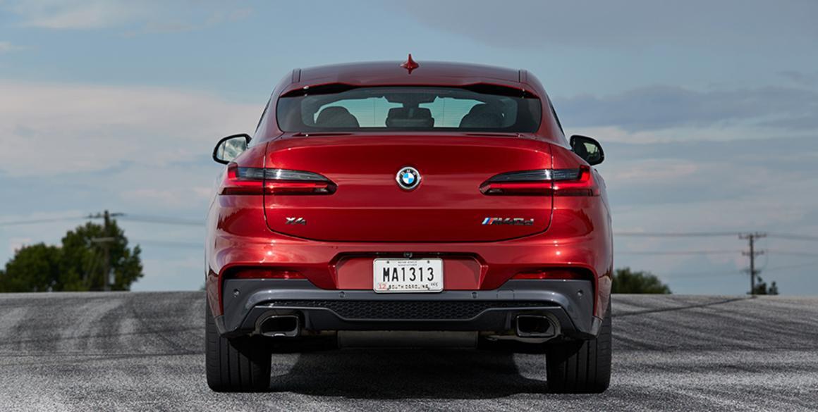 BMW-X4 tras