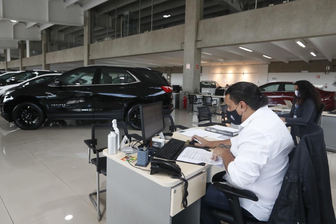 venda de carros concessionária
