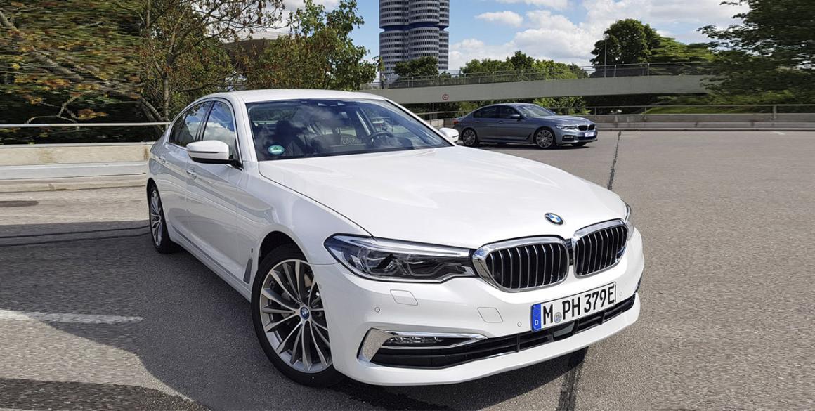 BMW 530e frente