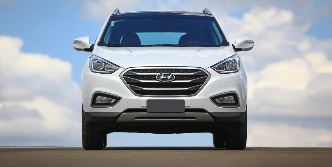 Hyundai ix35 frontal