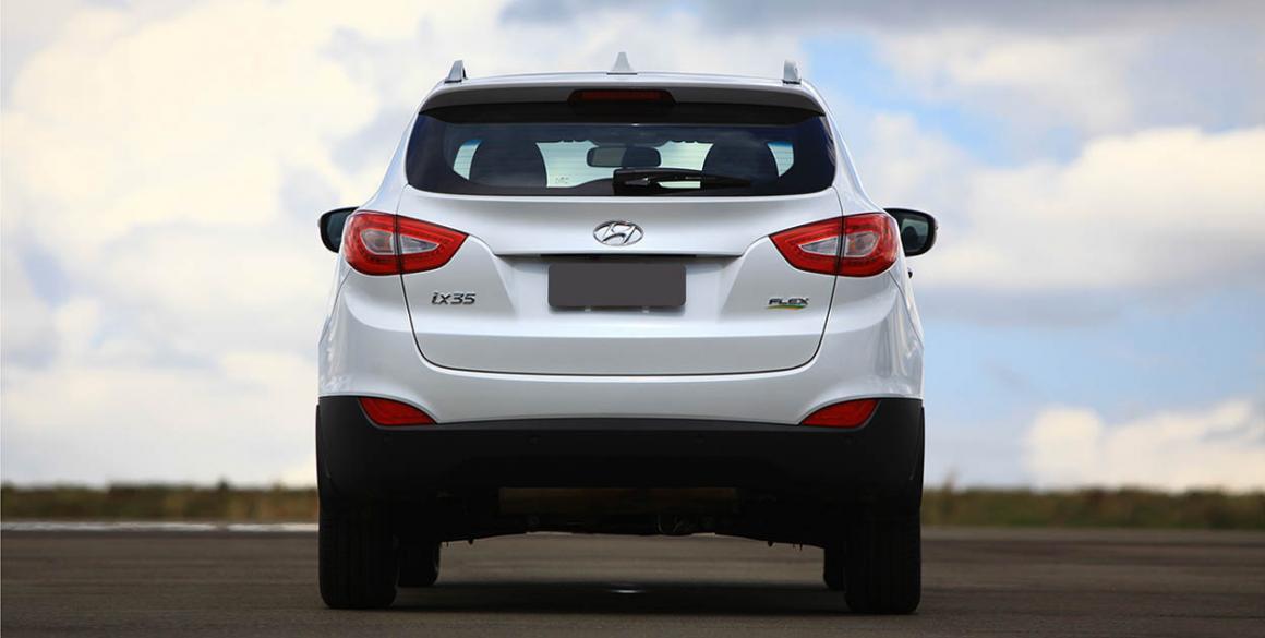 Hyundai ix35 tras