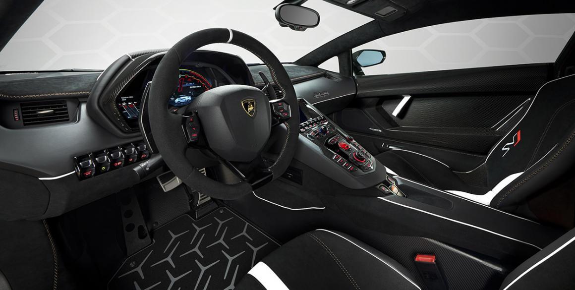 Lamborghini-Aventador-interior