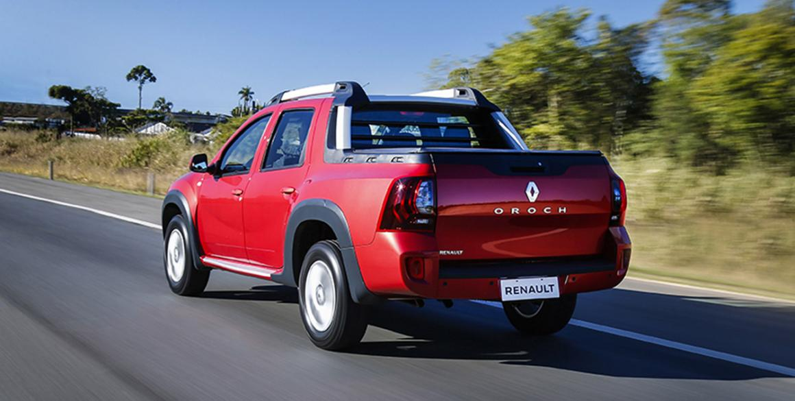 Renault Duster Oroch tras