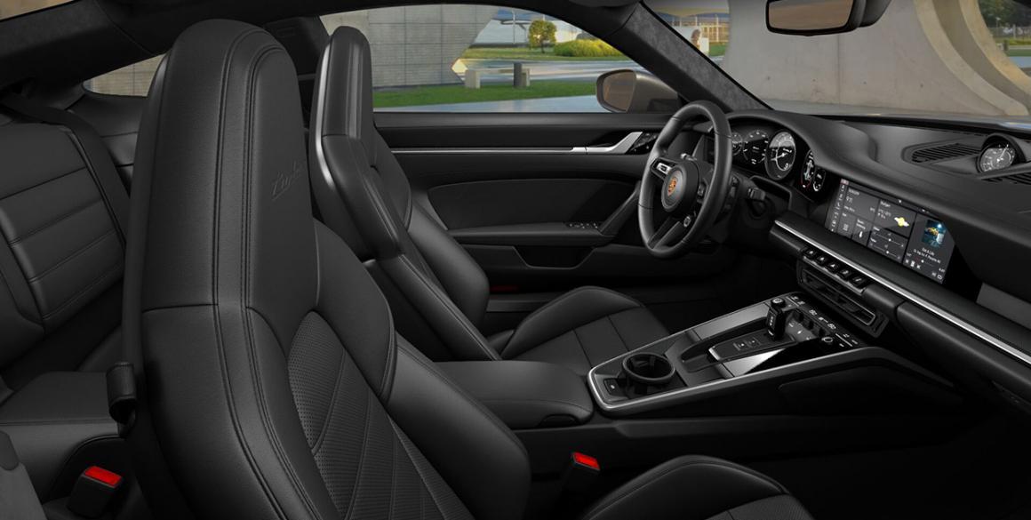 Porsch-911-interior
