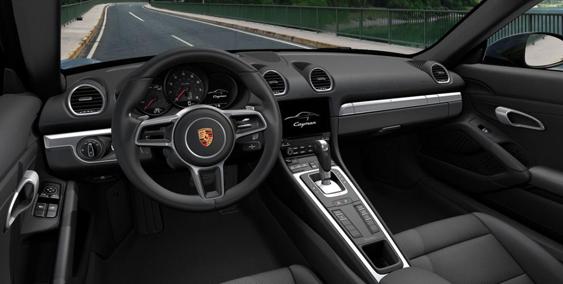 Porsche 718 Cayman-int-2