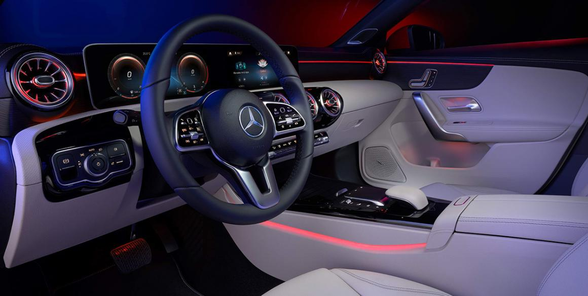 Mercedes-CLA-interior